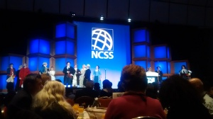Boston Tea Party Ships & Museum performing at the 2014 NCSS Conference President's Breakfast.