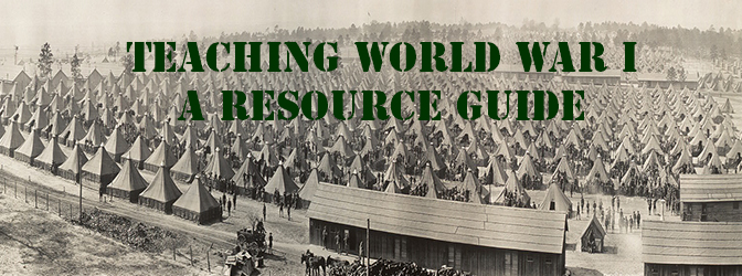 WWI Resources Featured Image